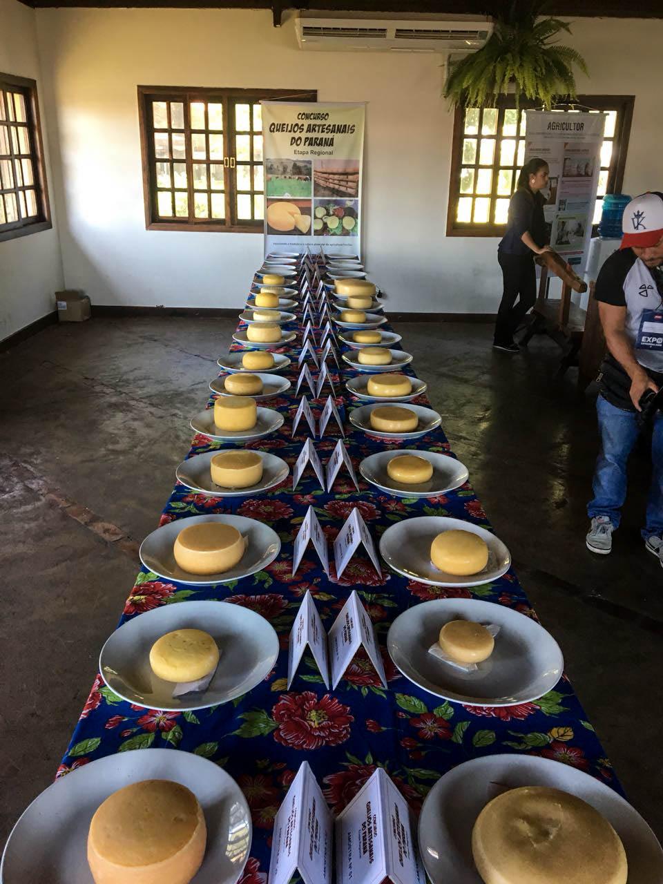 Foram avaliadas, 30 amostras de queijos.