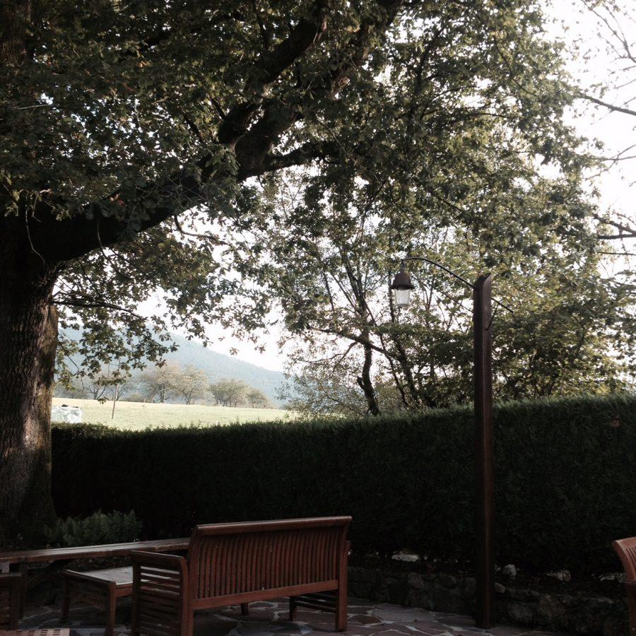 Jardim do Mugaritz, entre as montanhas do País Basco