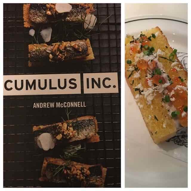 Ainda na cidade, Cumulus restaurante. Serve comida boa o tempo inteiro.
