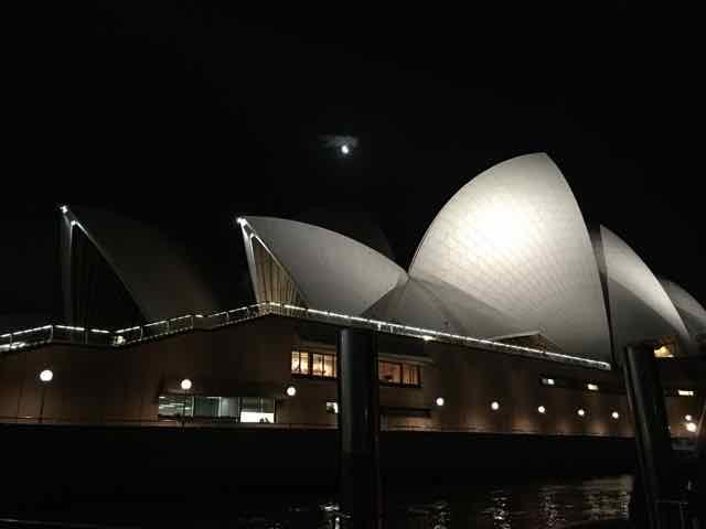 Opera House em Sydney, a cidade tem ótimos restaurantes