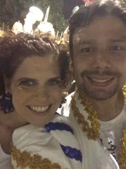 Rafa com Flávia Quaresma
