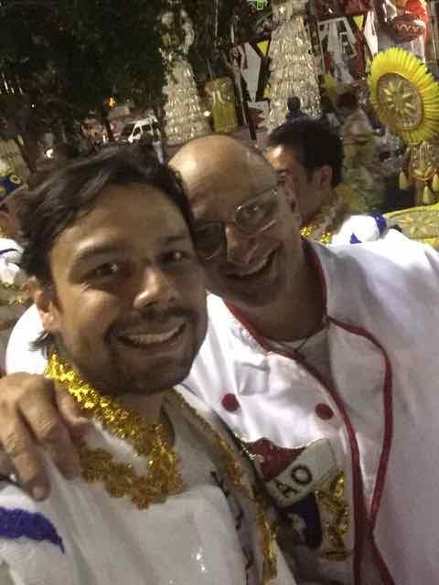 Rafael Miranda e Celso Freire, representando o Paraná