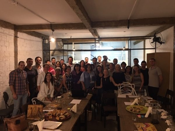 Na sede de O Locavorista: primeira reunião de planejamento para 2019